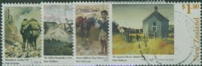 NZ SG2174-7 Paintings by Peter McIntyre set of 4